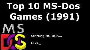 Top 10 Best MS DOS Games