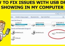 Fix Issues With USB Drive Not Showing In My Computer