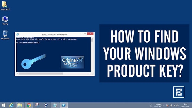 How To Find Your Windows 10 Product Key