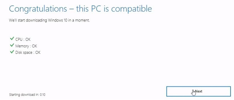 windows 10 upgrade compatibility tool download