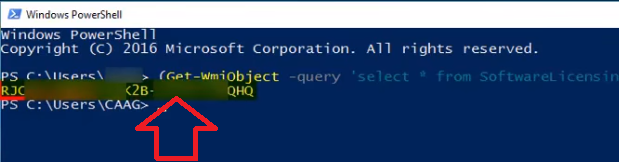powershell Get-WmiObject query