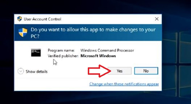 windows 10 product key UAC