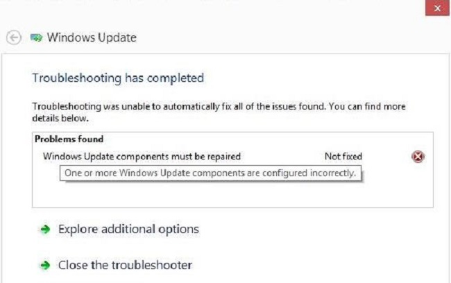 Windows Update Components Must Be Repaired On Windows 10