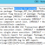 Unable To Install Software Update : CBS 0x800f0831 cbs_e_store_corruption