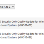 SCCM Failed To Install Updates 0x800f0831 Unknown Error (-2146498511)