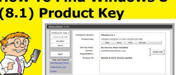 Find Windows 8 Product Key