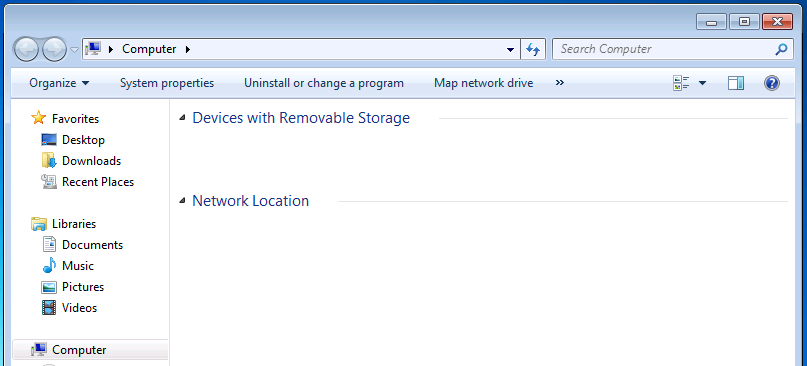 Hide Local Drive Using Group Policies