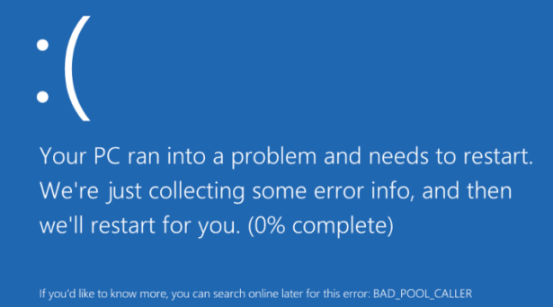 How To Fix Bad Pool Caller Error Code On Windows 10