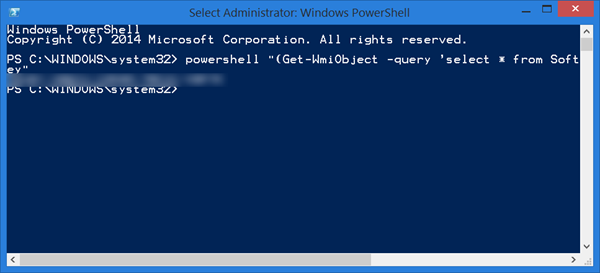 windows 8 product key via powershell