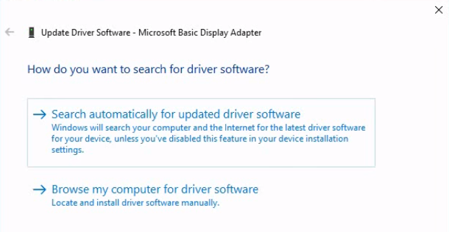 device driver update