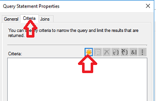 query statement properties