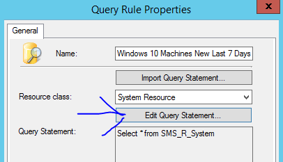 windows 10 query
