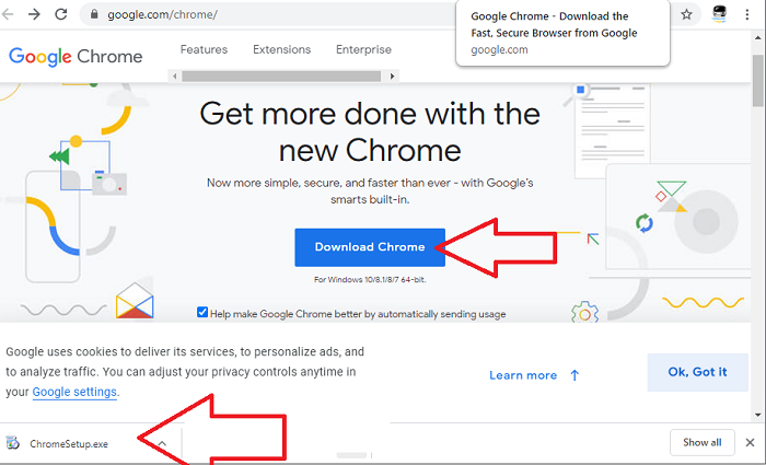 download latest google chrome