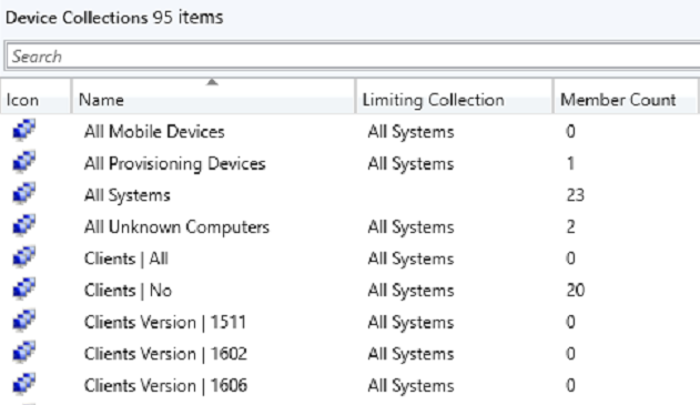 Create SCCM Device Collections via Powershell