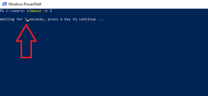 powershell timeout example